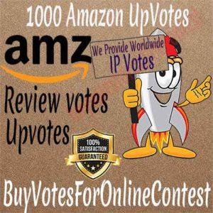 Buy Amazon UP Votes