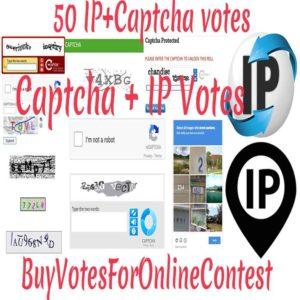 Captcha votes