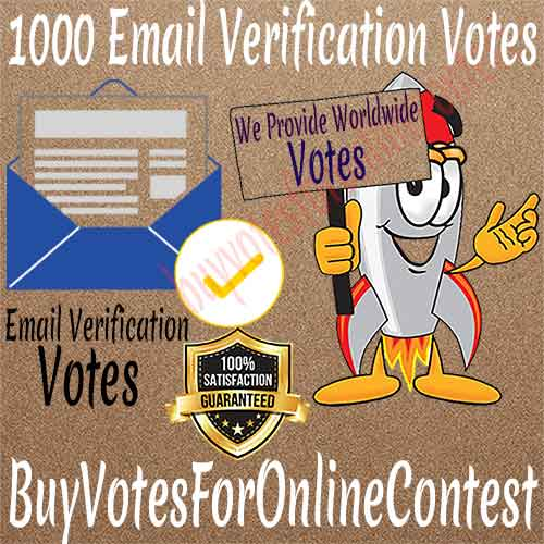 Buy Email Verification Votes