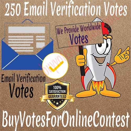 Buy Email Verification Votes
